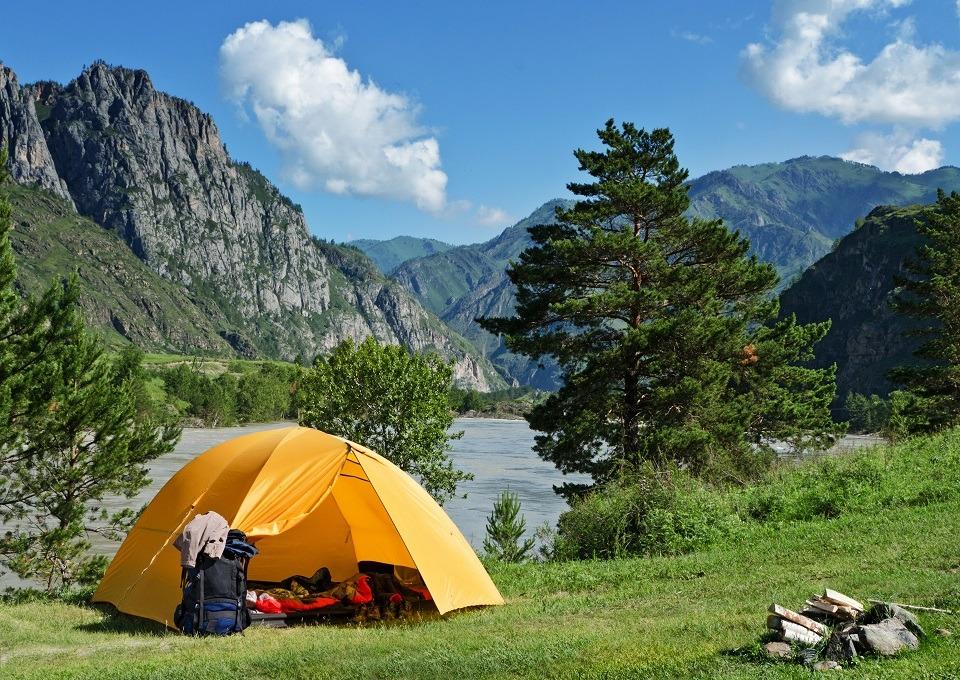 camping na Europa