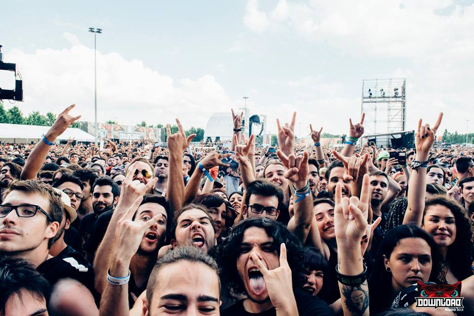 estrutura do download festival madrid