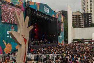 estrutura do popload festival