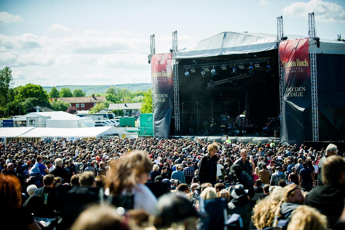 primeira vez no sweden rock