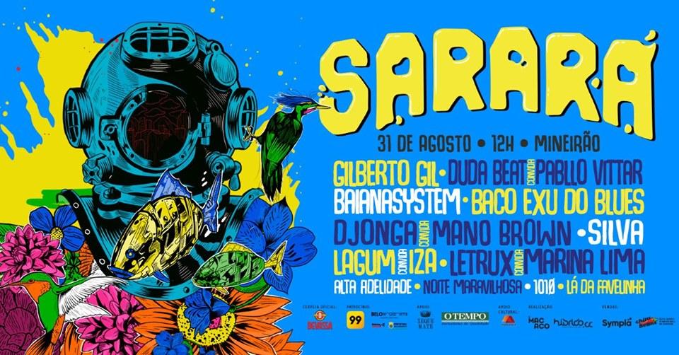 lineup sarara 2019