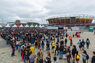 estrutura da cidade do rock em 2019