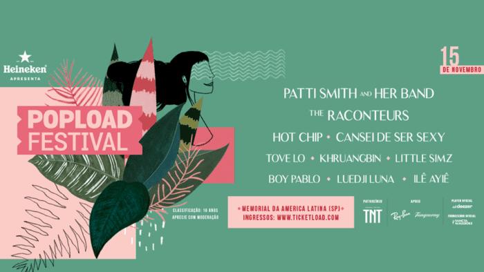lineup popload festival 2019