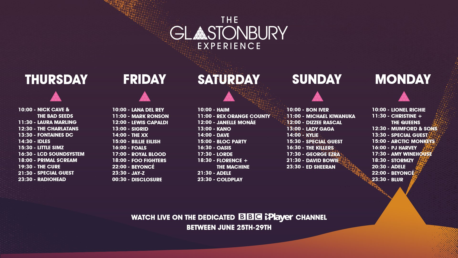 live glastonbury