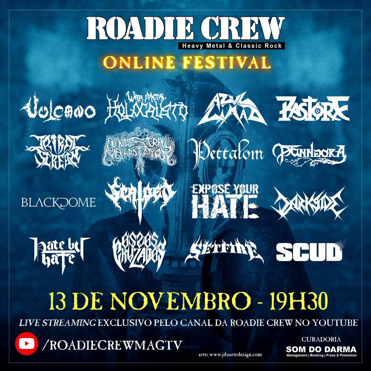 lineup roadie crew online festival