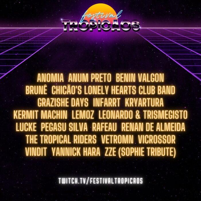 lineup festival tropicaos 2021