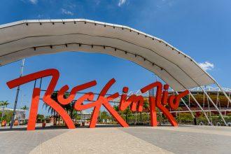 quanto custa viajar para o rock in rio - entrada do festival