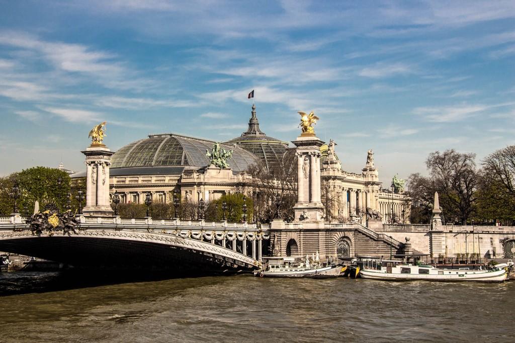 Ponte Alexandre III e Grand Palais