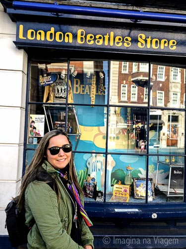 Perdição para quem é Beatlemaníaco, a London Beatles Store conta com uma coleção enorme e variada de artigos dedicados aos rapazes de Liverpool.