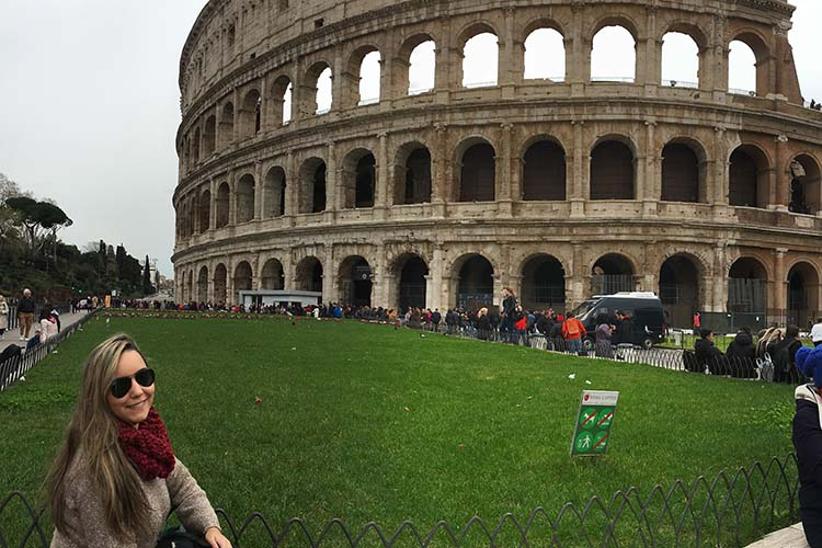 Coliseu © Imagina na Viagem - pontos turísticos imperdíveis na europa