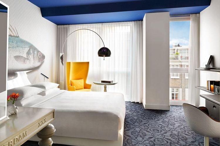Onde ficar em Amsterdam - Andaz © Andaz / Divulgação
