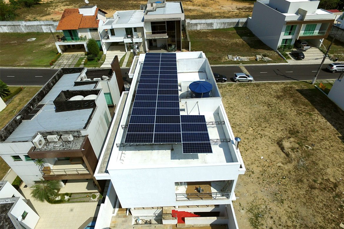 Residencial Bosque Imperial 12Kwp InfinitySun Energia Solar