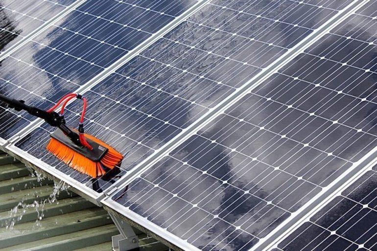 Nova Tecnologia limpa painéis solares para maior eficiência
