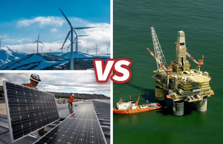 Energias Renováveis ultrapassarão combustíveis fósseis