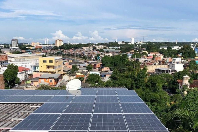 Sistema Energia Solar 10KWp - Edifício Raiz