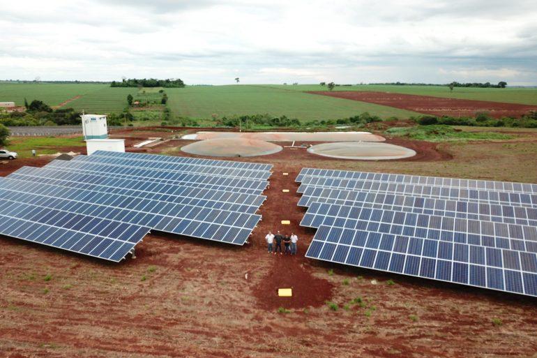 Usina Solar FV 275 KWp – Capromal – SP