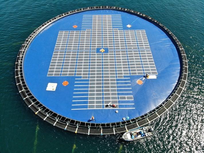 Projeto Solar Flutuante Inovador