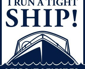 Significado de run a tight ship