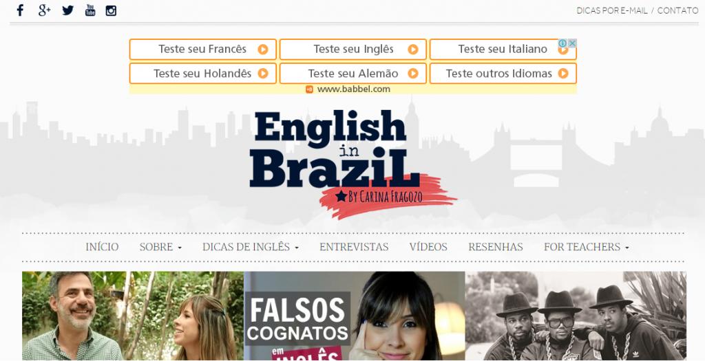 blogs de inglês brasileiros