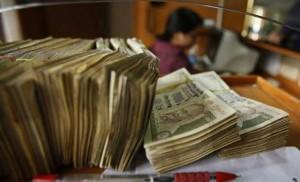 juntar dinheiro em inglês