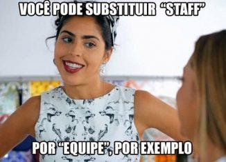 Brasileiro e inglês