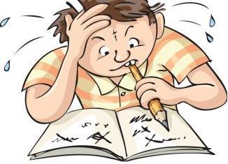 Estudar com afinco em inglês