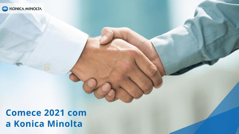 Comece 2021 com a Konica Minolta
