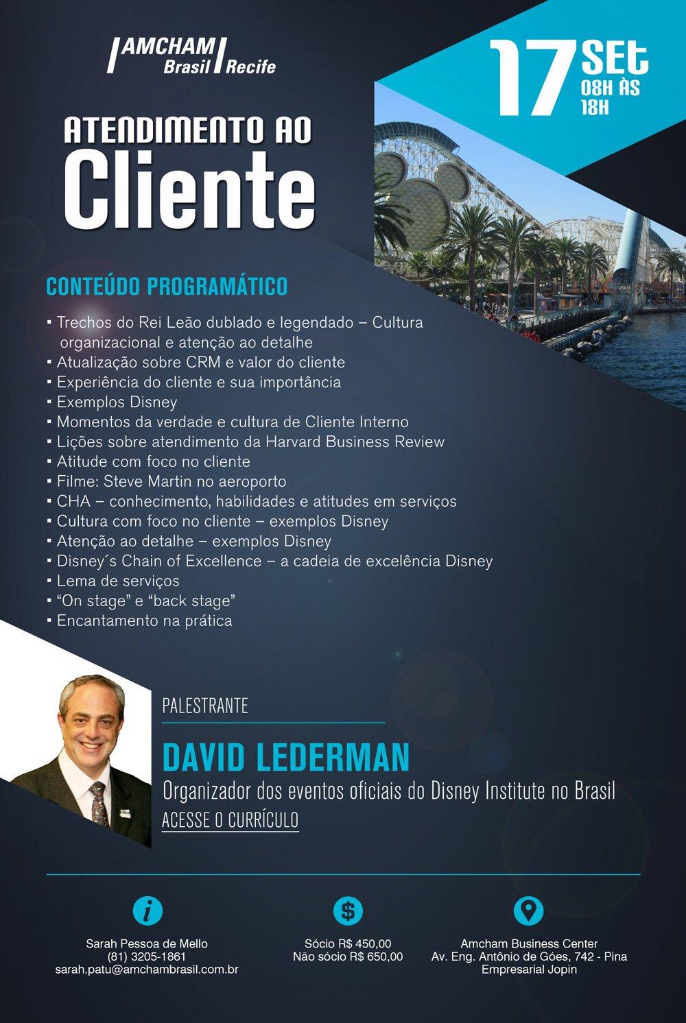 David Lederman Realizará Evento De Atendimento Ao Cliente Em
