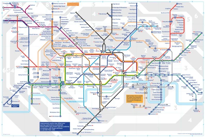 Crise, criatividade e inovação: metrô de Londres