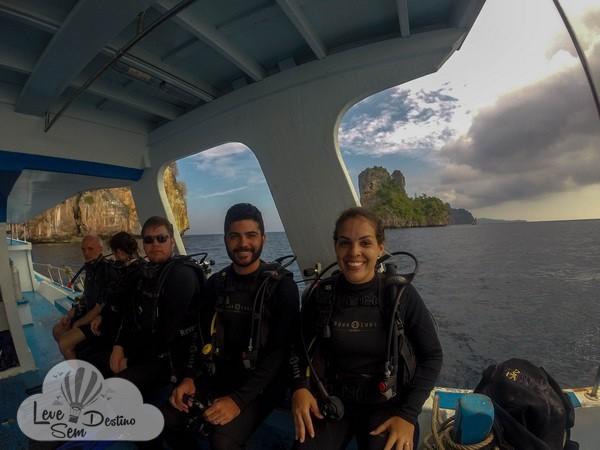 mergulho em koh phi phi - koh tao - ilhas - tailandia - bangkok - profun divers - batismo - preço - bahts (3)