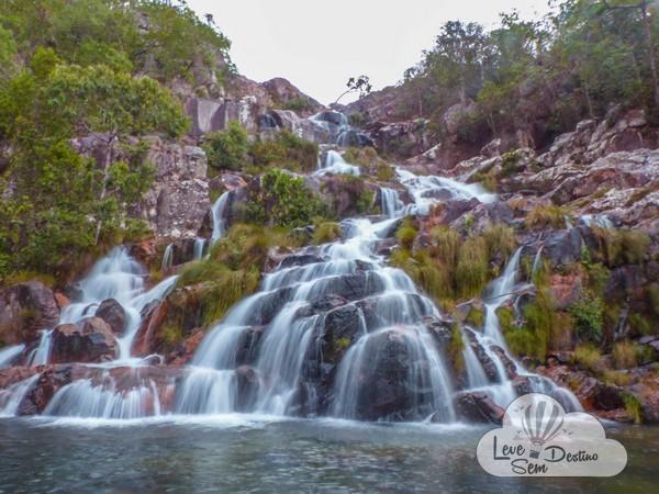 cachoeiras da chapada dos veadeiros - goais - capivaras