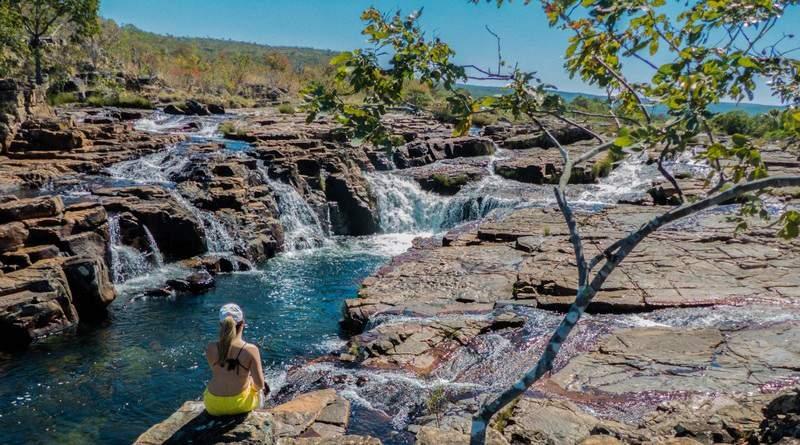 cachoeira do papagaio - chapada dos veadeiros- goias - rio dos couros - catarata dos couros - alto paraiso - sao jorge (1)