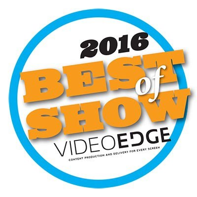 NewBay Media's 2016 NAB Best of Show Award, Video Edge, Leyard® TW1.2 Series LED Video Wall