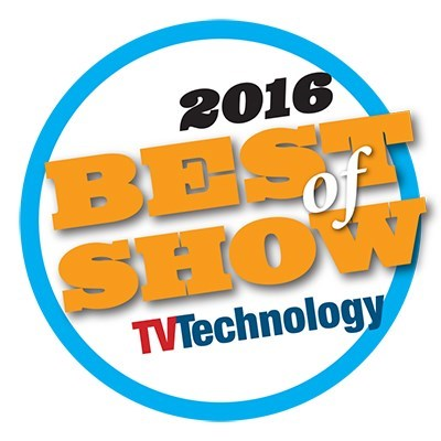 NewBay Media's 2016 NAB Best of Show Award, TV Technology, Leyard® TW1.2 Series LED Video Wall