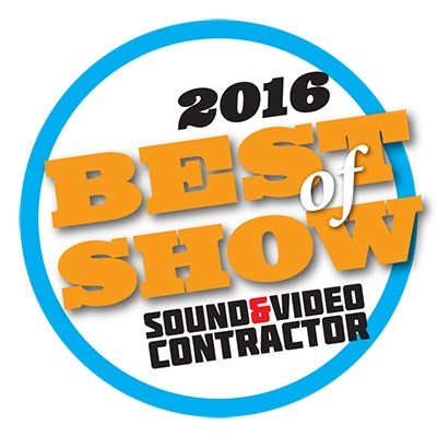 NewBay Media's 2016 NAB Best of Show Award, Sound & Video Contractor, Leyard® TW1.2 Series LED Video Wall