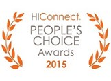 HiConnect People's Choice Awards 2015 Best Overall Vignette - Marriott M Club Lounge Studio, created by Marriott Interior Design Architecture: Planar® Helium™ Series