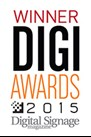 DIGI Award 2015 Best New Display Device, Large Screen: Clarity® Matrix® LCD Video Wall with G2 Architecture