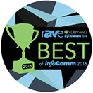 rAVe Publications 2016 InfoComm Best of Show Award, Leyard® CarbonLight™: Best New Rigid LED Wall Product
