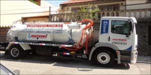 caminhão limpa fossa sistema auto vácuo
