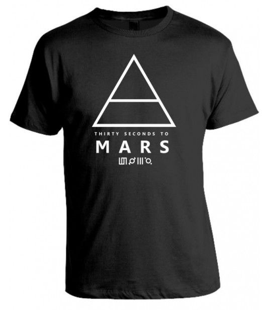 Camiseta 30 Seconds to Mars - Modelo 02