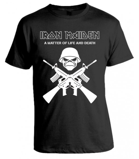 Camiseta Iron Maiden - A Matter Of Life And Death