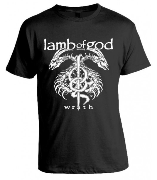 Camiseta Lamb Of God Modelo 02