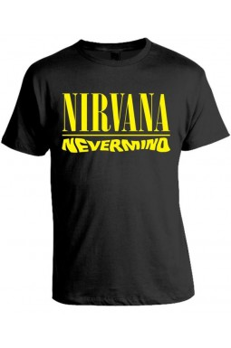 Camiseta Nirvana - Nevermind
