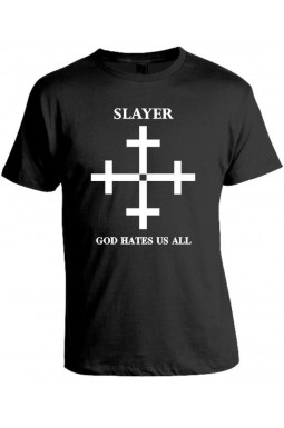 Camiseta Slayer - God Hates Us All