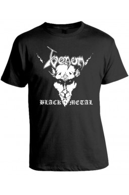 Camiseta Venom Black Metal