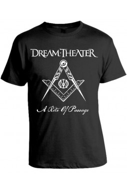 Camiseta Dream Theater Modelo A Rite Of Passage