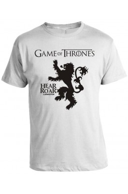 Camiseta Game Of Thrones - Hear Me Roar - Lannister