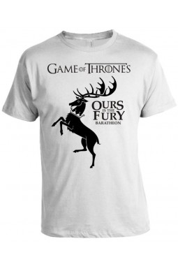 Camiseta Game Of Thrones - Ours is The Fury - Baratheon