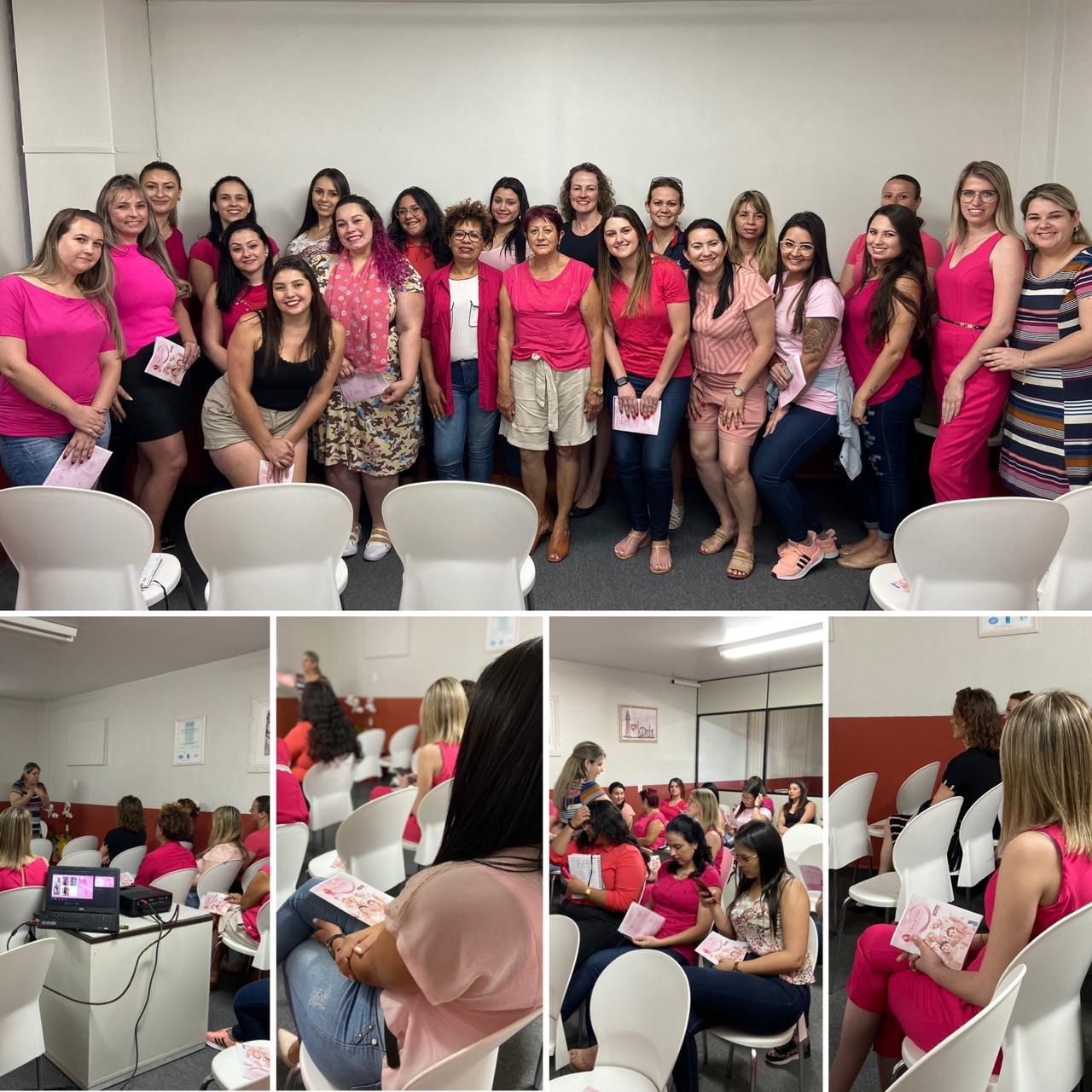 Palestra Outubro Rosa e Saúde da Mulher
