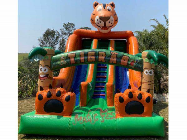 aluguel-de-brinquedos-tobogã-tigrão-2